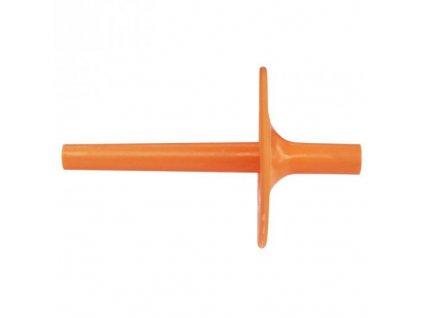 Náustek pružný (délka 2 cm) Oranžový 5
