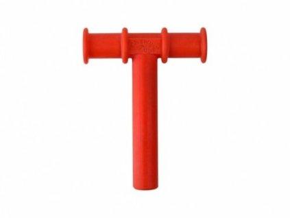 Chewy Tube žvýkací trubička hladká Ø12mm Měkká Červená