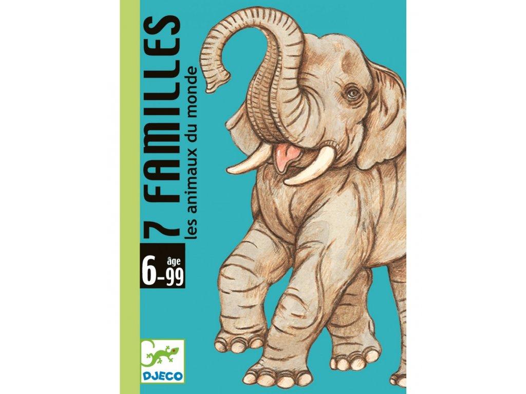 Karty zvířecí rodinky