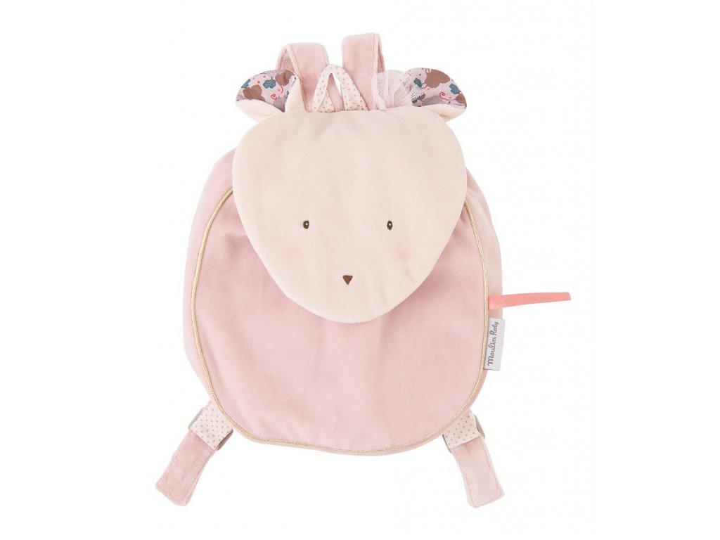Plyšový batoh Myška