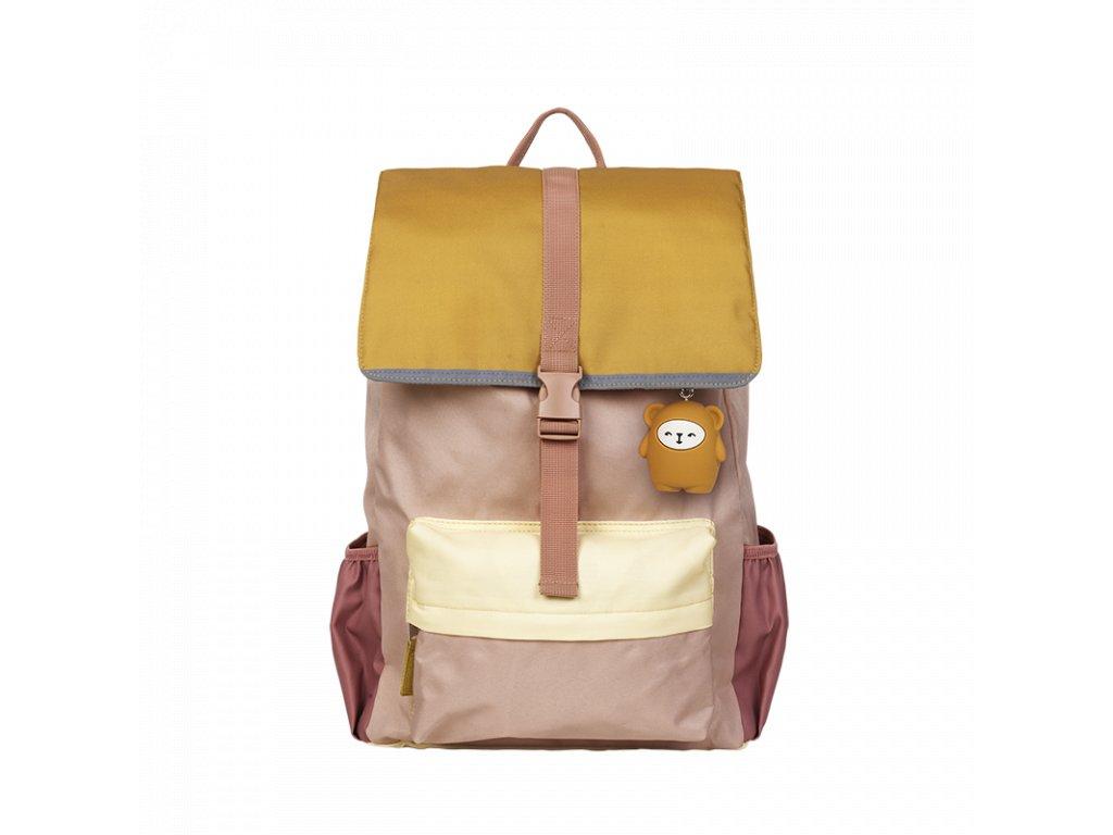 2006238277 Backpack Large Old Rose Mix Front