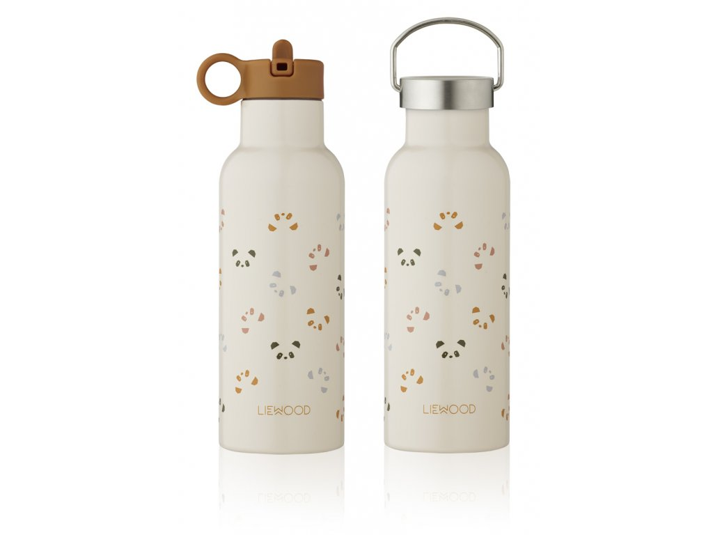 LW13047 Neo water bottle 5077 Panda sandy multi mix Extra 0