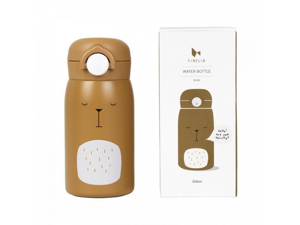 Water bottle Bear Ochre (primary)