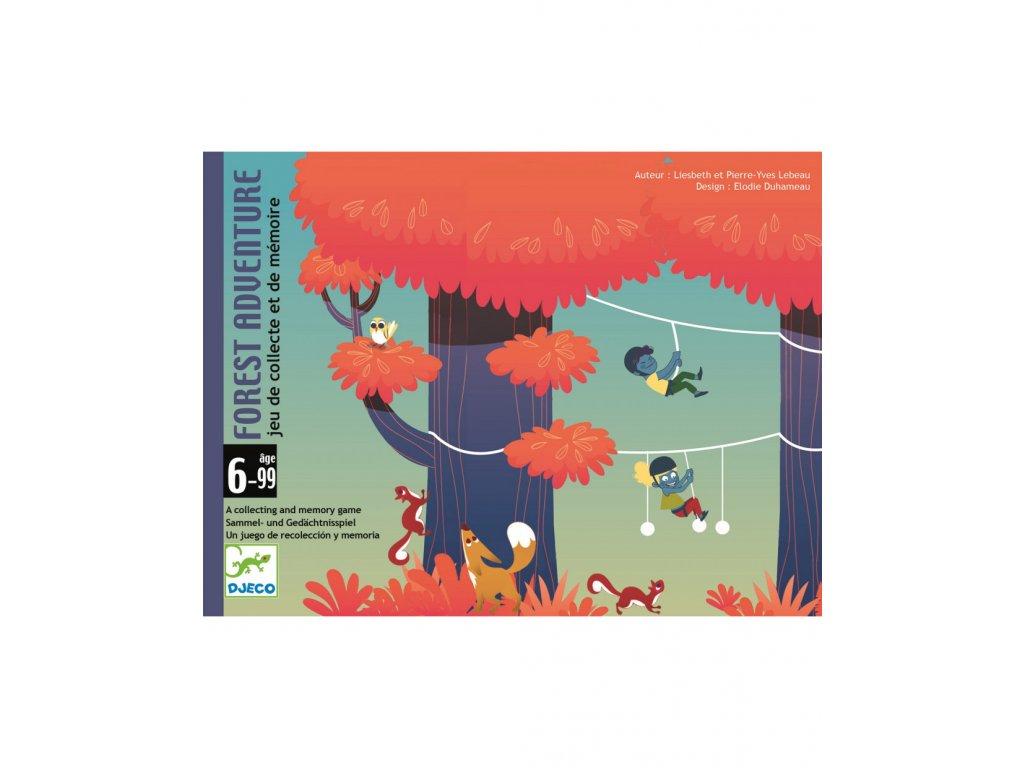 DJECO Karetní hra Lesní dobrodružství