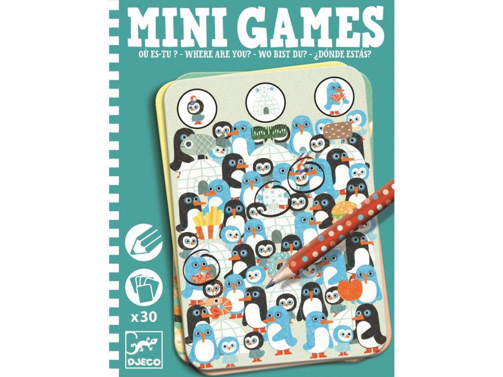 Mini games Kdepak jsi?