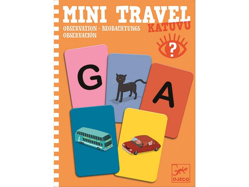 DJECO Mini travel - Všímáš si věcí?