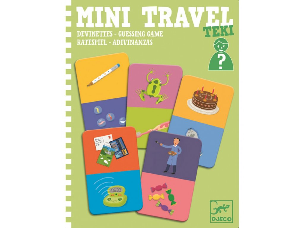DJECO Mini travel - Kdo jsem?