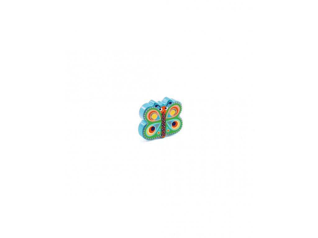 Hudební palička Marakas Motýlek