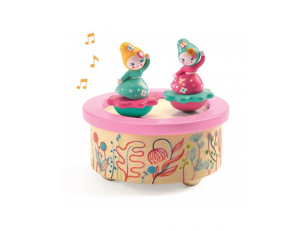 Hudební hračka Tančící panenky