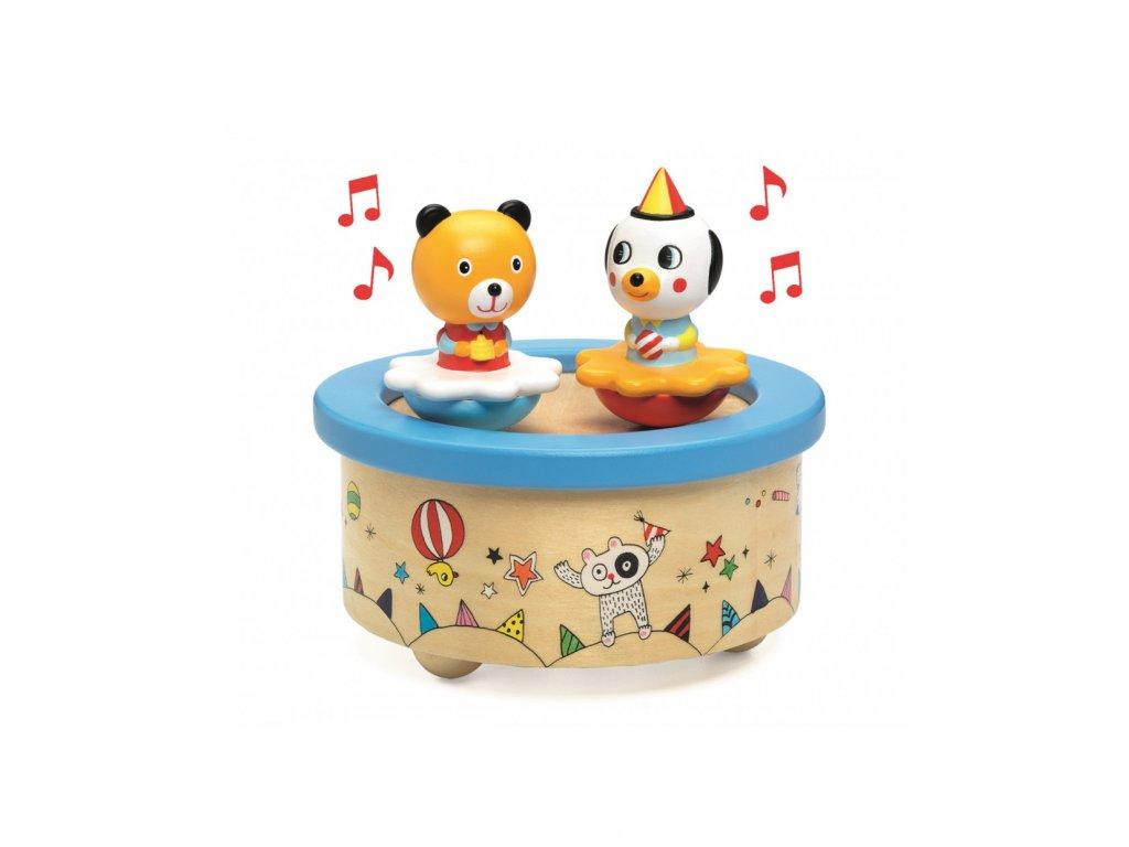 DJECO Hudební hračka Zvířecí oslava