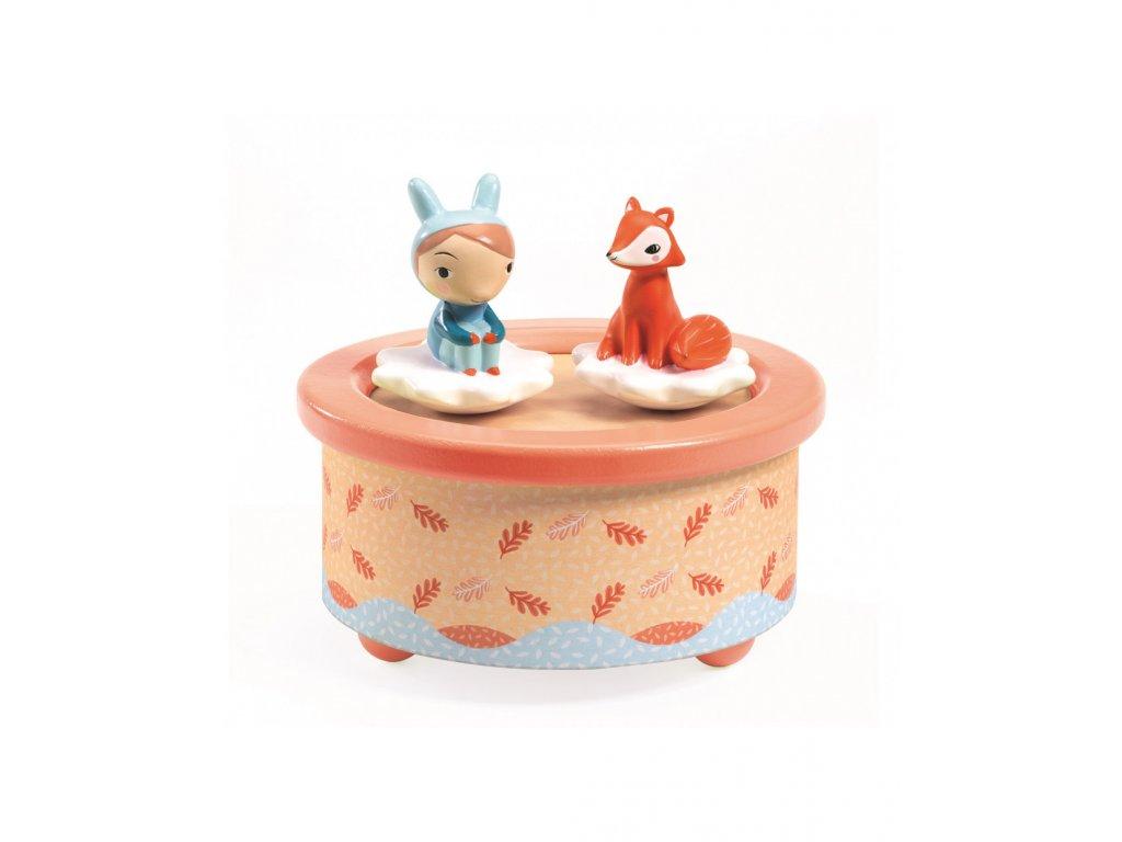 Hudebni hračka Liška a kamárad