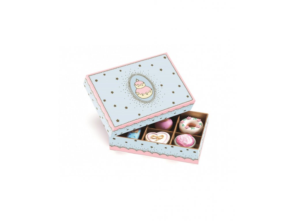 Djeco Cukrářské dortíky pro Princezny