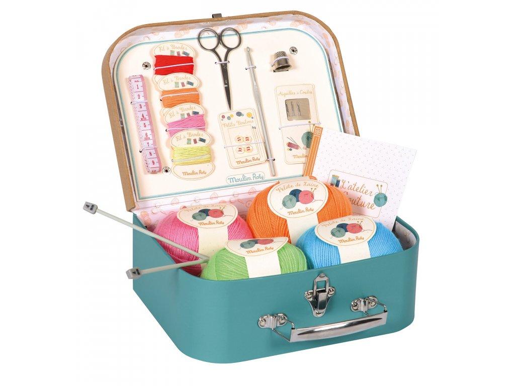Pletení v kufříčku