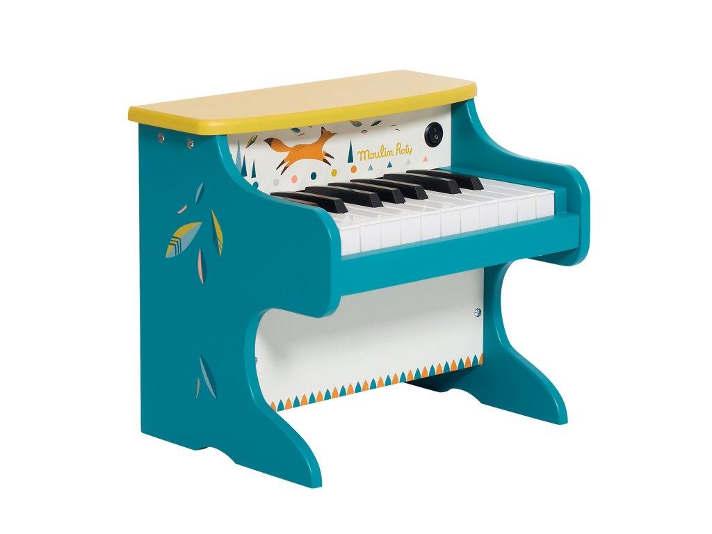 Dřevěné piano Moulin Roty