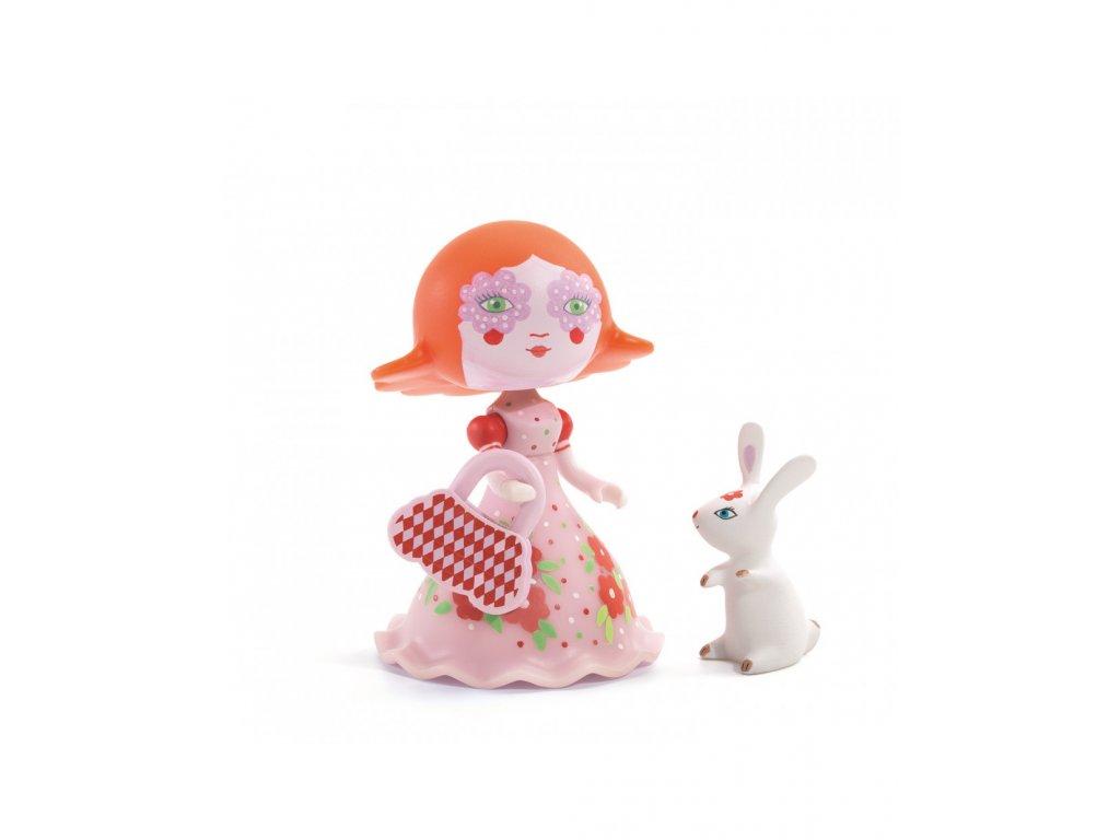DJECO Figurka Elodie s králíčkem