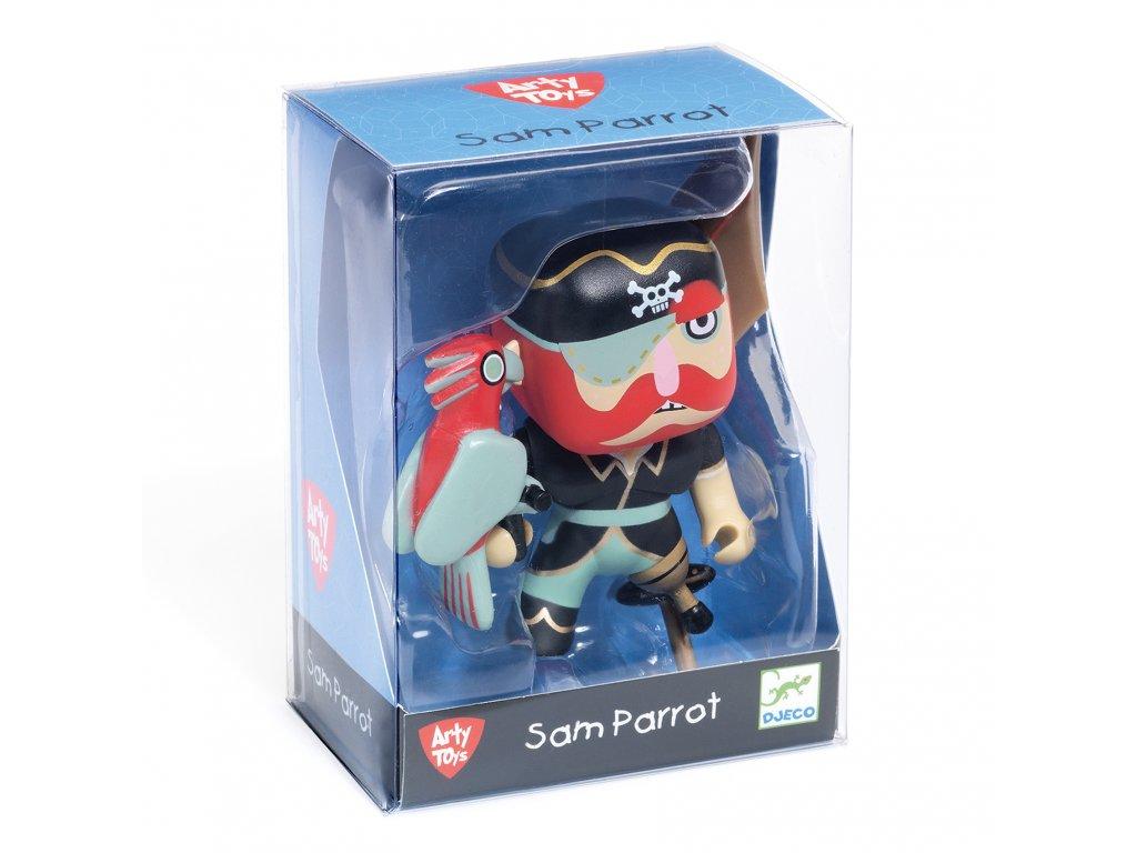 Figurka pirát Sam