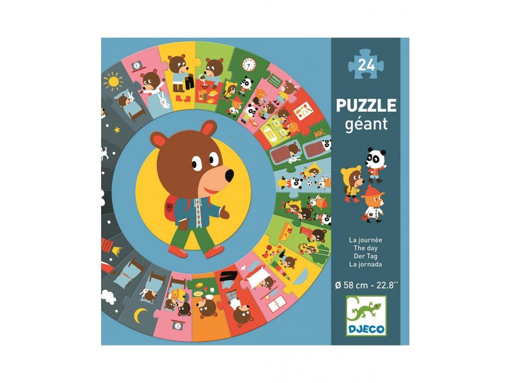 DJECO Puzzle gigant - Denní činnosti