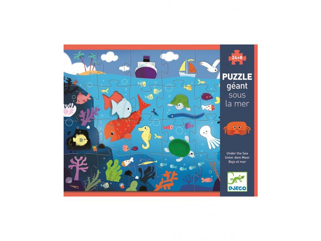 DJECO Velké puzzle Moře