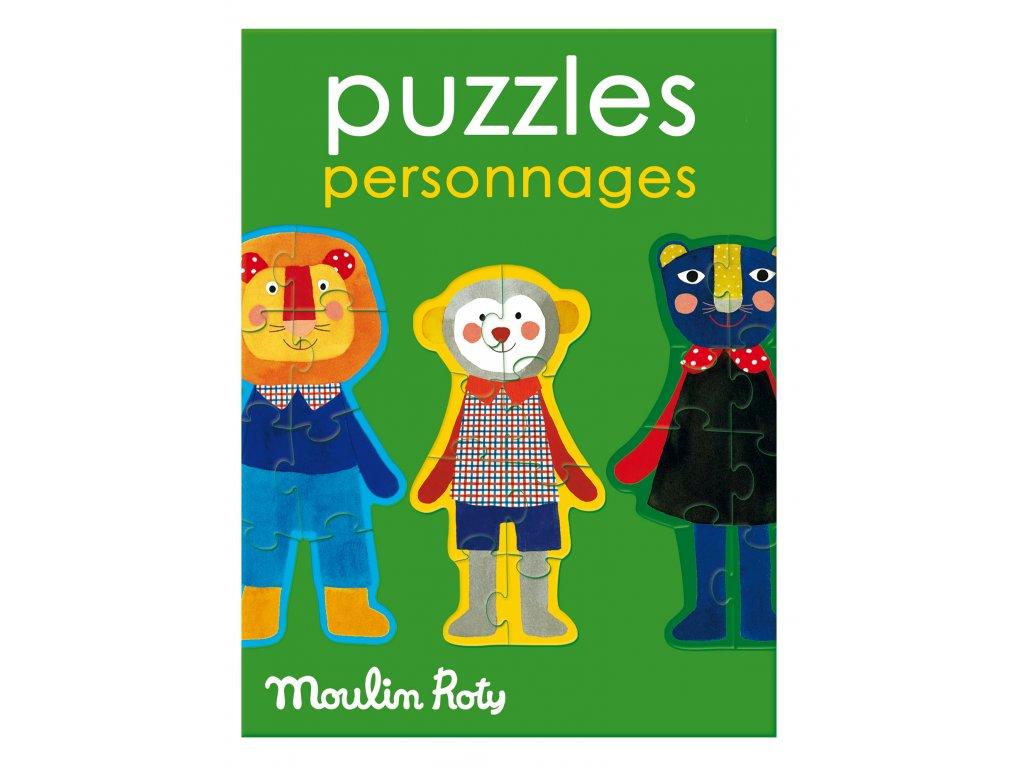 MOULIN ROTY Puzzle Přátelé