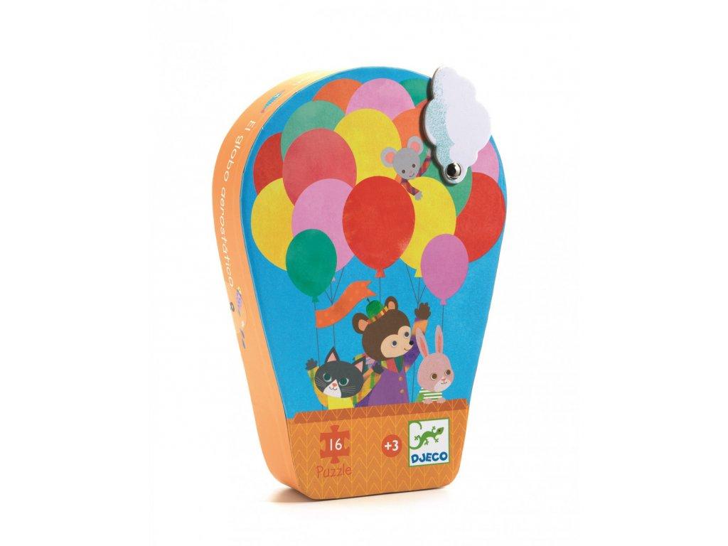 DJECO Puzzle Balón - 16 dílků