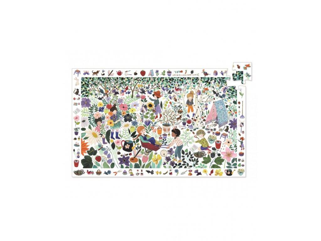 Vyhledávací puzzle Tisíc květin - 100 dílků