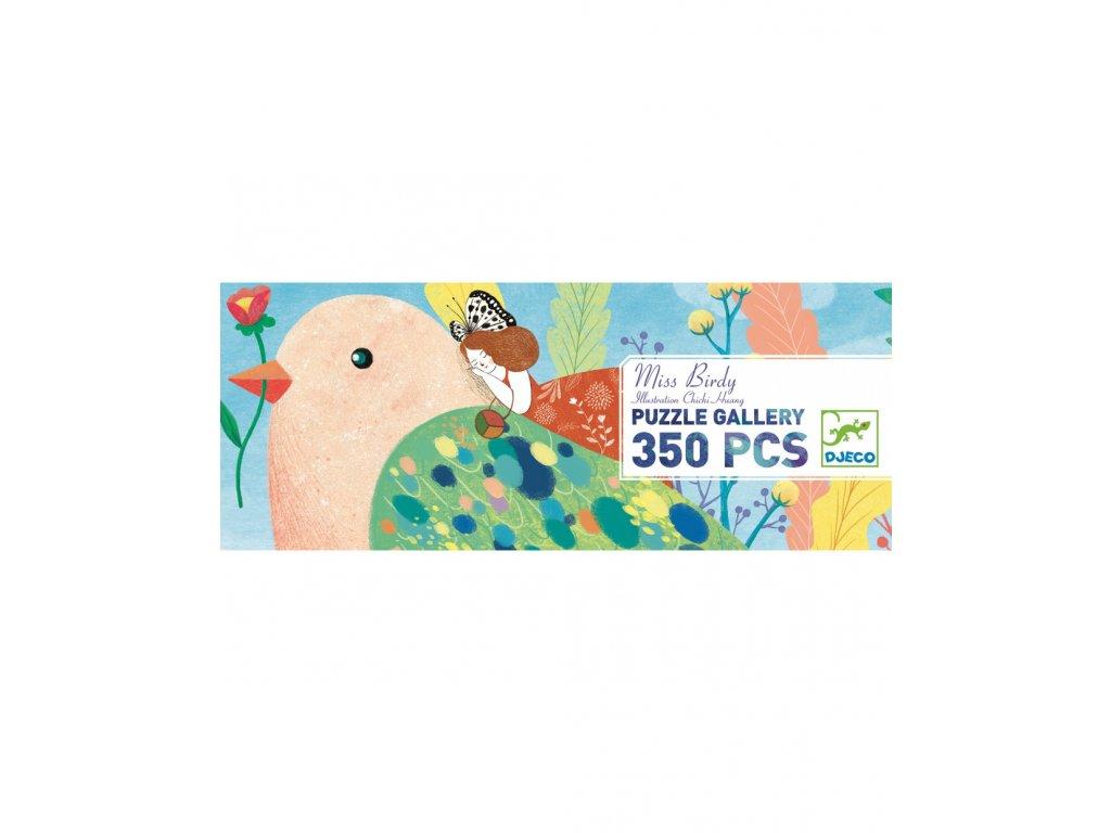 DJECO Puzzlový obraz Ptačí svět - 350 dílků
