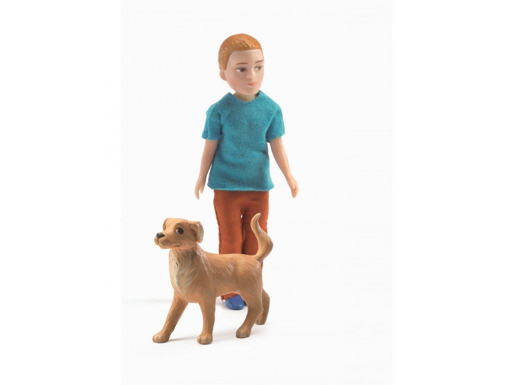 Xavier a jeho pes