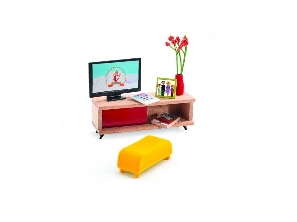 DJECO Pokoj s televizí