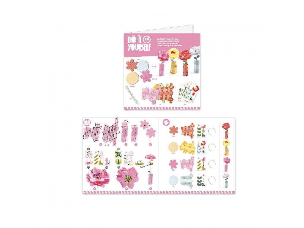 Designové květiny