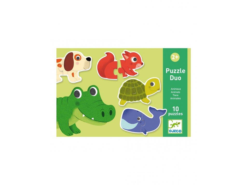 DJECO Duo puzzle Zvířátka