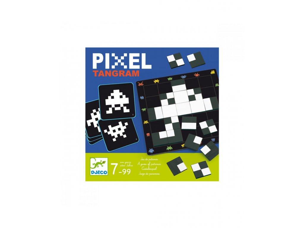 Hra Pixel Tangram