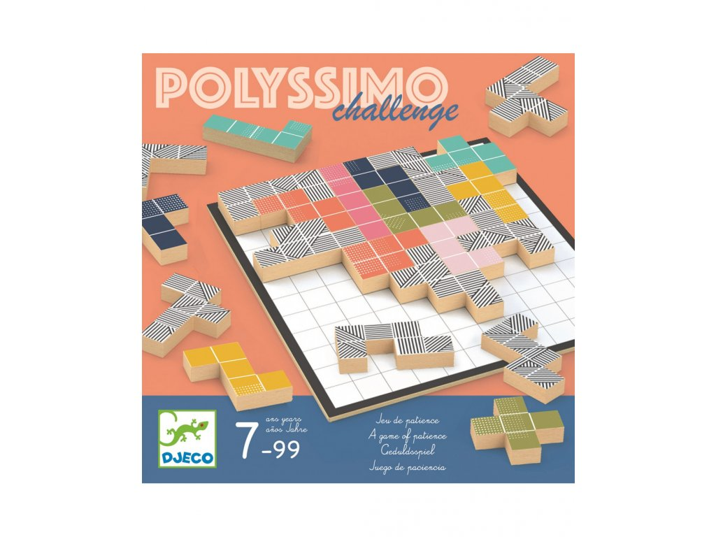 DJECO Polyssimo Tetris