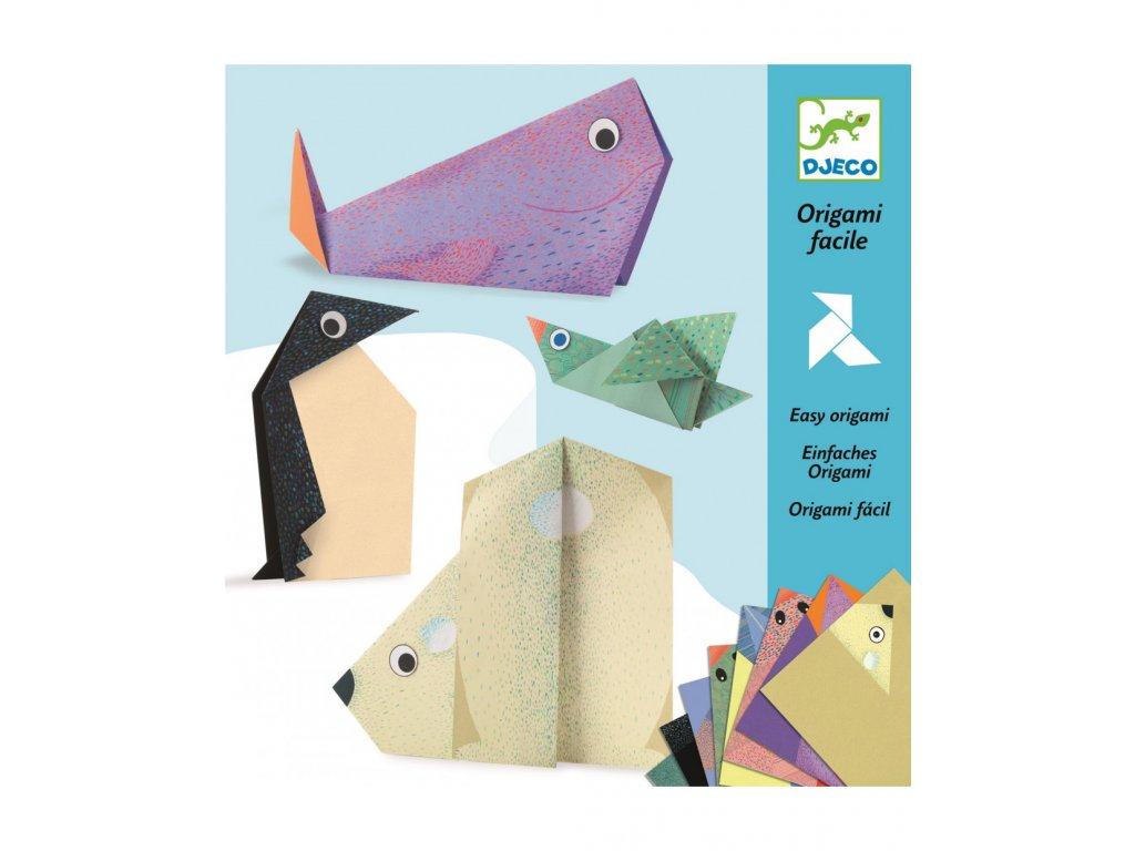 Origami skládačka Polární zvířátka