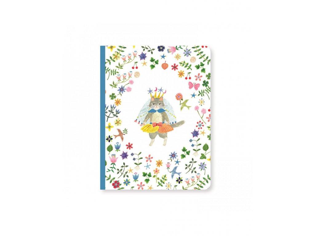 DJECO Krásný designový zápisník Aiko