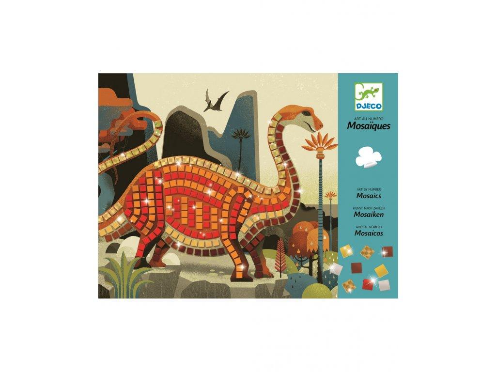 Mozaika Dinosauři