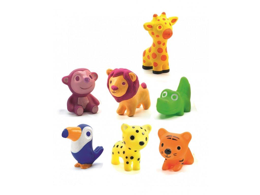 Figurky zvířátka ze zoo