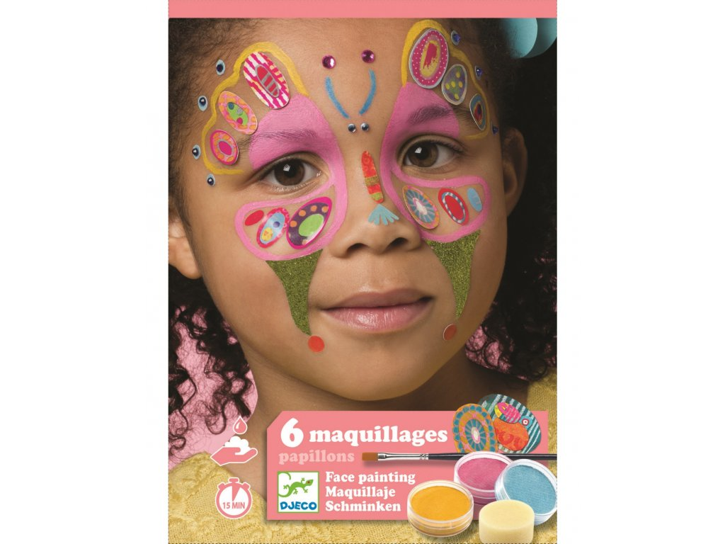 Malování na obličej Motýli