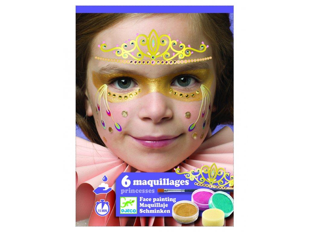 Malování na obličej Princezny