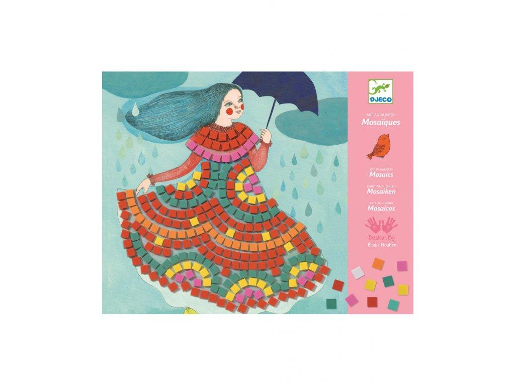 DJECO Pestrobarevná mozaika Na párty