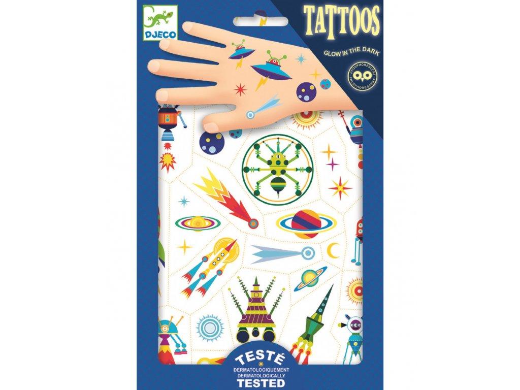 DJECO Tetování Veselý vesmír