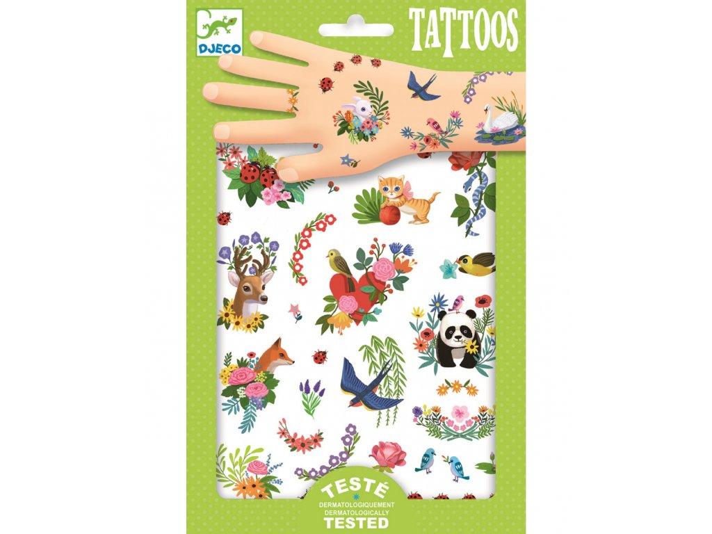 Tetování Šťastné jaro