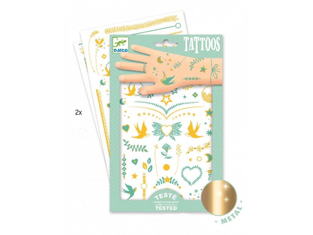 Tetování Liliny šperky