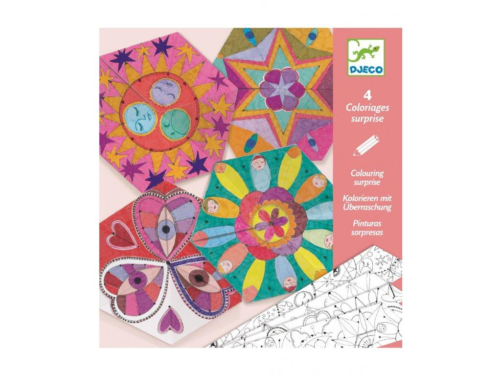 DJECO Origami Hvězdné Mandaly