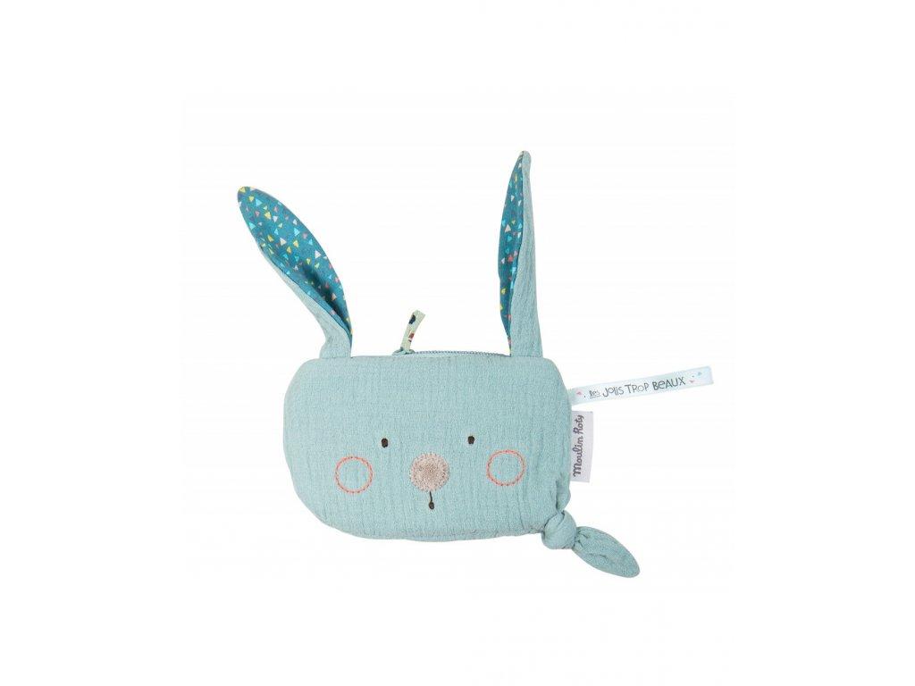 Látkové pouzdro Modrý zajíc