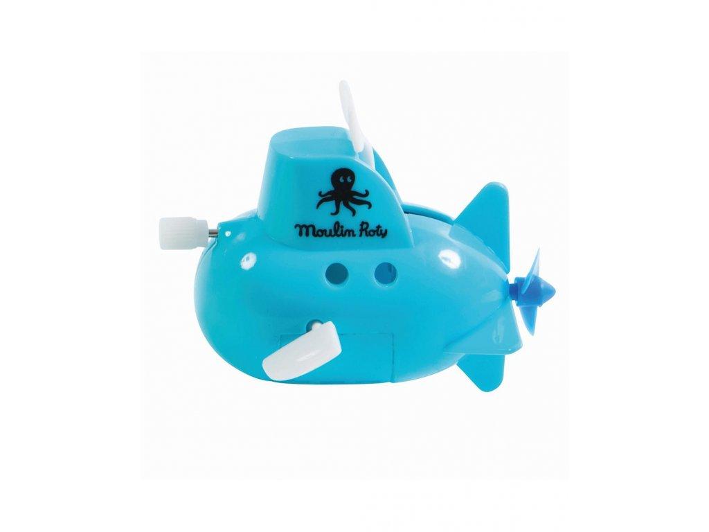 Ponorka do vany modrá