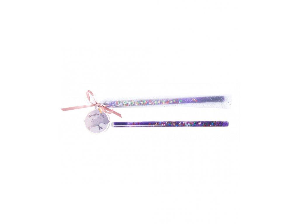 Kouzelnická hůlka fialová