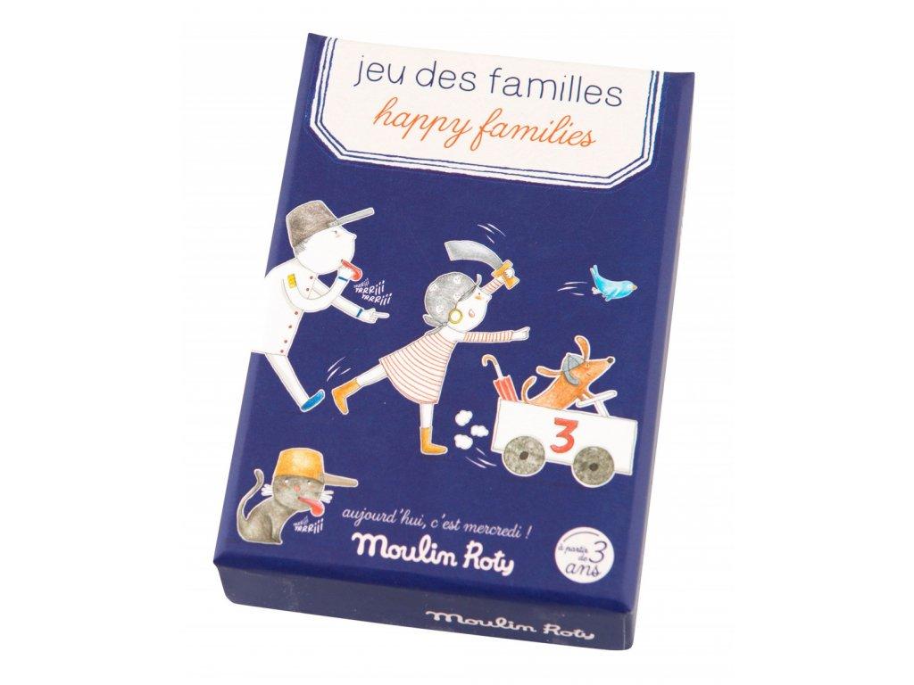 Zábavná karetní hra Rodinky
