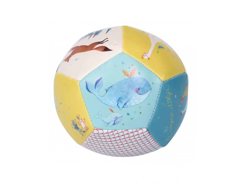 Měkoučký míč Velryba a lišák