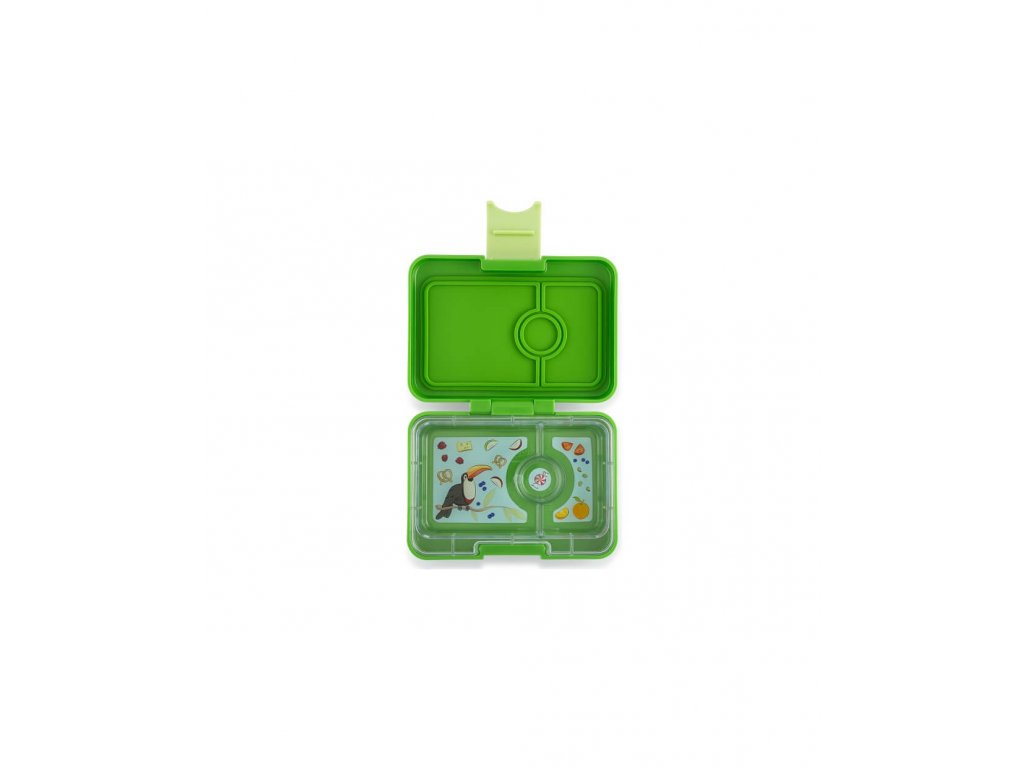 Yumbox MINISNACK zelený