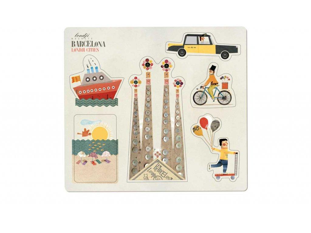 1200 Barcelona Magnets